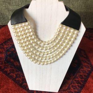 5 Strand Fairchild  Baldwin pearl choker